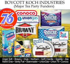 Products Made By Koch Brothers Owned Companies.