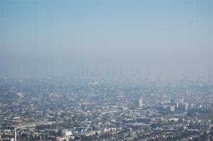 Smog Filled Bakersfield California