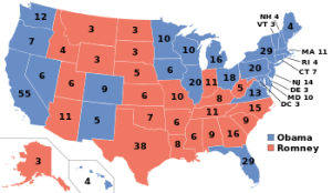 2012 Electoral College Results